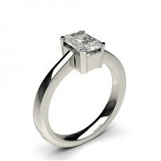 4 Prong Setting Plain Engagement Ring - CLRN596_01
