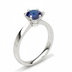 Princess Sapphire Engagement Rings