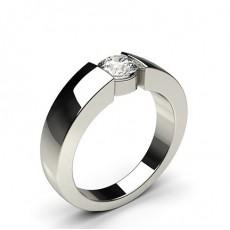 Bar Setting Plain Engagement Ring - CLRN642_01