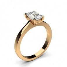 4 Prong Setting Plain Engagement Ring - CLRN651_01