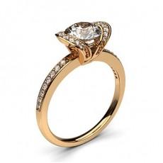 Rotgold Versandbereite Ringe