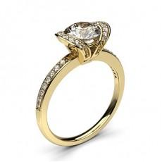 Gelbgold Versandbereite Ringe