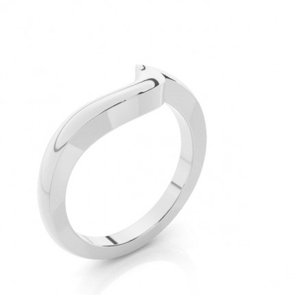 1.70mm Slight Comfort Fit Plain Shaped Wedding Band
