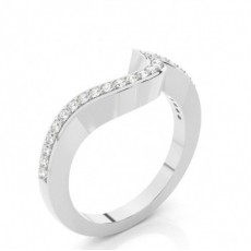 1.7mm Studded Slight Comfort Fit Diamond Shaped Band - CLRN693_03