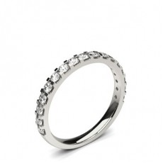 Or Blanc Pour Elle Alliances Diamant