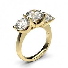Gelbgold 3 Diamanten
