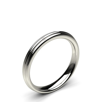 3.10mm Comfort Fit Plain Wedding Band