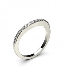 1.80mm Pave Setting Studded Diamond Shaped Band - CLRN896_02