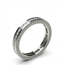 Channel Setting Full Eternity Diamond Ring - HG0617_41