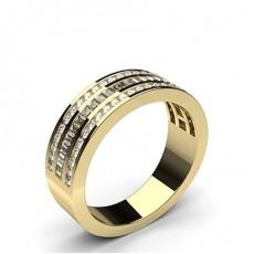 Channel Setting Half Eternity Diamond Ring - HG0571_55
