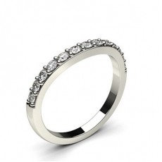 1.60mm Studded Slight Comfort Fit Diamond Shaped Band - CLRN959_01