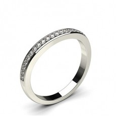 2.20mm Studded Slight Comfort Fit Diamond Shaped Band - CLRN960_01