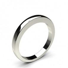 2.50mm comfort Ehering mit einem schlichten hochzeitsband - CLRN961_01