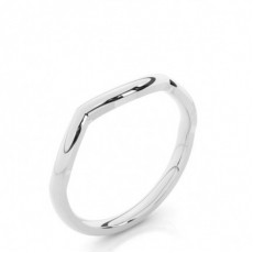 1.70mm Slight Comfort Fit Plain Shaped Wedding Band - CLRN962_01