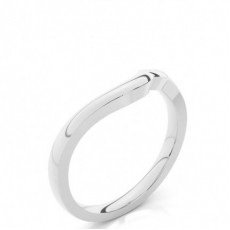 1.70mm Slight Comfort Fit Plain Shaped Wedding Band - CLRN963_02