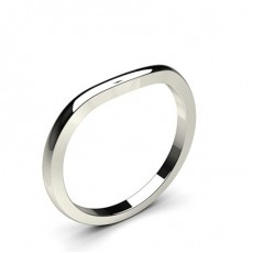 1.90mm Slight Comfort Fit Plain Shaped Wedding Band