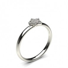 4 Prong Setting Round Diamond Delicate Ring - CLRN1087_01