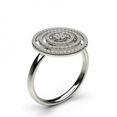 Pave Setting Round Diamond Delicate Ring - CLRN1112_01