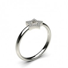 Pave Setting Round Diamond Delicate Ring - CLRN1114_01