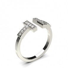 4 Prong Setting Round Diamond Delicate Ring - CLRN1124_01
