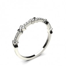 4 Prong Setting Round Diamond Delicate Ring - CLRN1131_01
