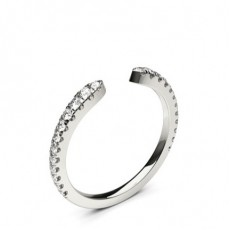 4 Prong Setting Round Diamond Delicate Ring - CLRN1136_01