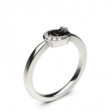 4 Prong Setting Round Diamond Delicate Ring - CLRN1138_01
