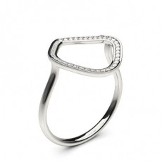Pave Setting Round Diamond Delicate Ring - CLRN1165_01