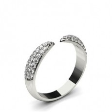 Pave Setting Round Diamond Delicate Ring - CLRN1168_01