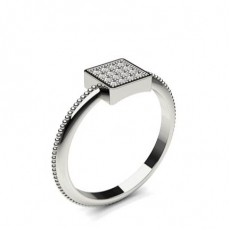 Pave Setting Round Diamond Delicate Ring - CLRN1183_01