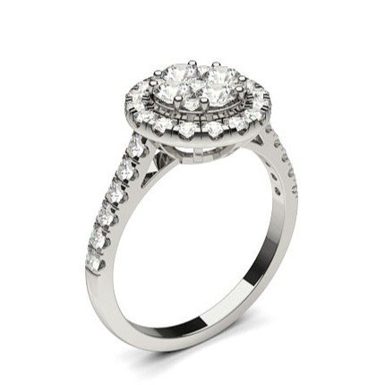 4 Prong Setting Medium Engagement Ring