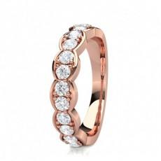 Halb Eternity Diamant Ring in einer Krappenfassung - CLRN1539_01
