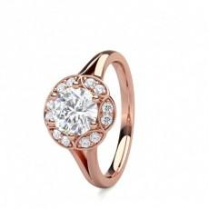 Multi Diamant Verlobungsring in einer Krappenfassung - CLRN1559_01