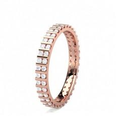 2.70mm Eternity Diamant Ring in einer Balkenfassung - CLRN1561_01