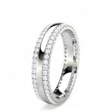 Illusion Setting Full Eternity Diamond Ring - CLRN1566_01