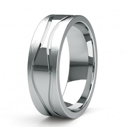 Leichte Comfort Profil Plain Hochzeitsband 3.00mm
