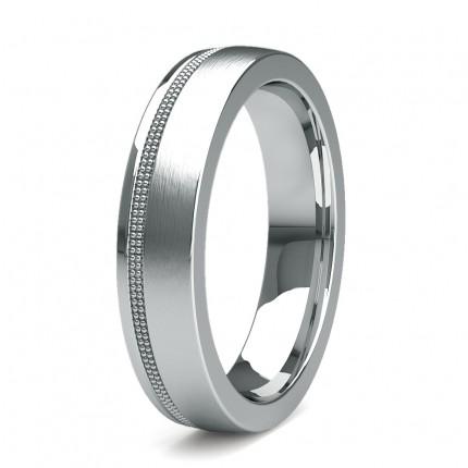 Leichte Comfort Profil Plain Hochzeitsband 3.50mm