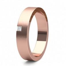 Rose Gold Men's Diamond Wedding Rings