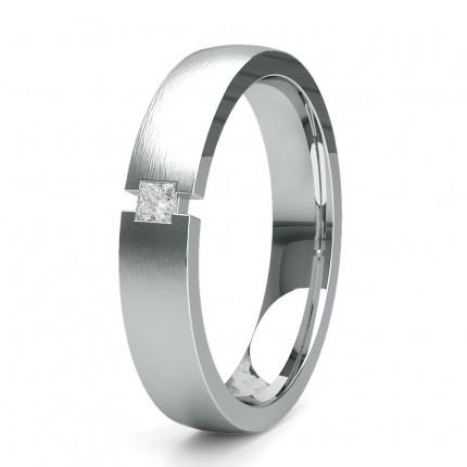 Eternity Diamant Ring in einer Krappenfassung