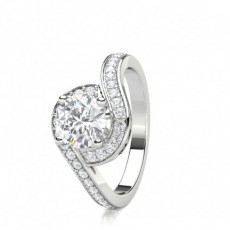 4 Prong Setting Side Stone Halo Engagement Ring - CLRN1594_01