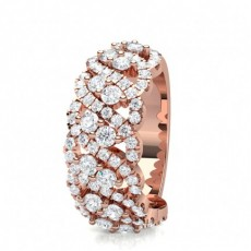 3 Prong Setting Round Diamond Fashion Ring - CLRN1595_01