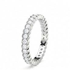 2.80mm Eternity Diamant Ring in einer Pavefassung - CLRN1622_01