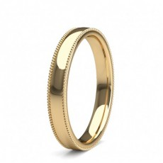 Yellow Gold Women's Contemporary Wedding Bands