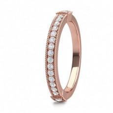 Pave Setting Half Eternity Diamond Ring - CLRN1649_01