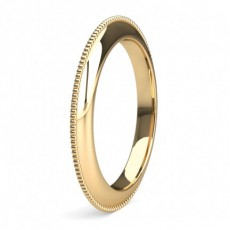 Yellow Gold Women's Contemporary Wedding Rings