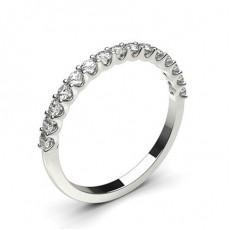 Platinum Diamond Eternity Rings