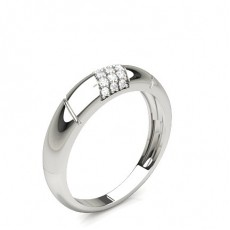 1.80mm Studded Standard Fit Diamond Wedding Band