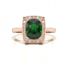 Rose Gold Diamond Rings