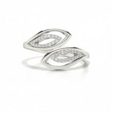 Silber Diamantringe für den Alltag