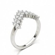 Women's Diamond Shaped Band